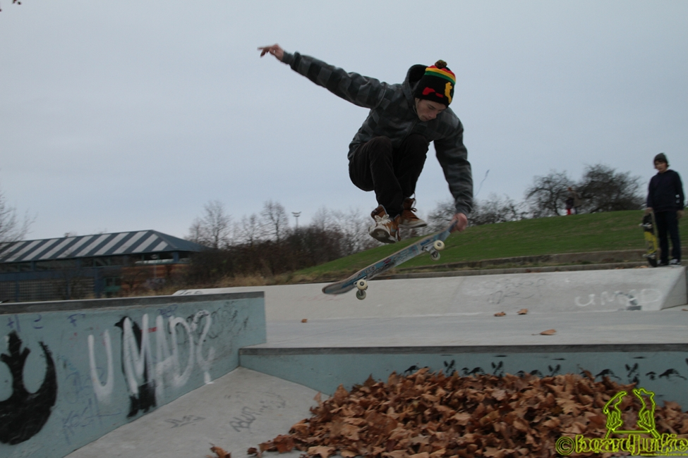 Jacob vom VADDER-Team am Skateplaza Darmstadt