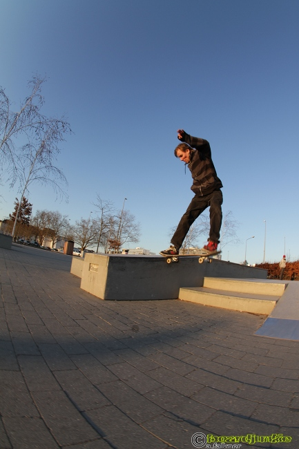 Max Klink am Skateplaza Wiesbaden