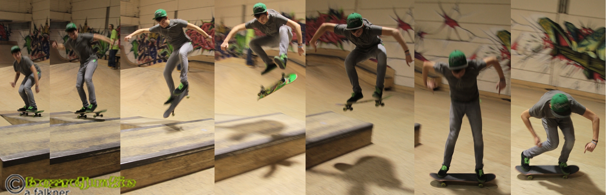 Thomas boardjunkie - heelflip über kicker