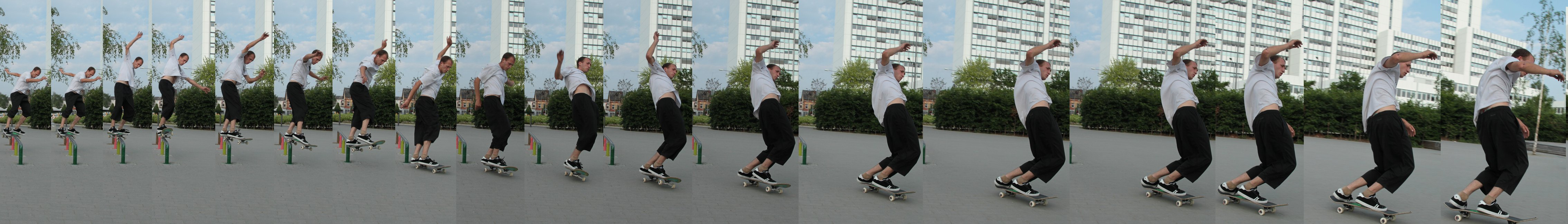 boardjunkie Tim Cabalo - BS Feeble to BS Smith