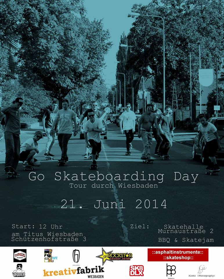 Go Skateboarding Day 2014
