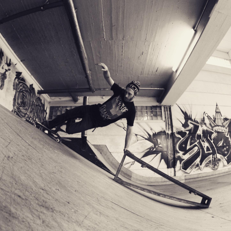 Tim at Skatehalle